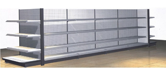 China Heavy Duty Steel Supermarket Display Shelving supplier