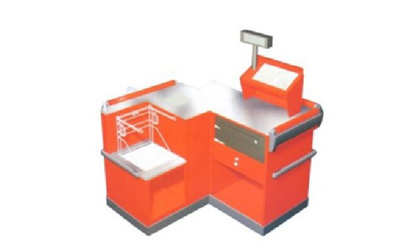 Aluminum Alloy Express Checkout Counter Supermarket Steel Checkoutstand