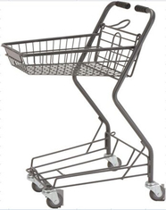 China Machine Welding Customizable Shopping Cart Convenient Supermarket Baskets And Trolleys supplier