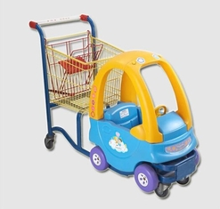 Inoxidable Plastic Shopping Trolley Kids Shopping Carts Galvanised
