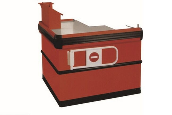 Garment Shop Express Checkout Counter with Powder coated Surface L1100 * W1100 * H850 MM