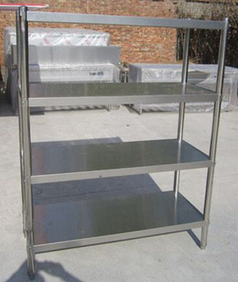 Knock Down Stainless Steel Rack Shelving For Restaurant Kitchen Shelving Rack Rustless