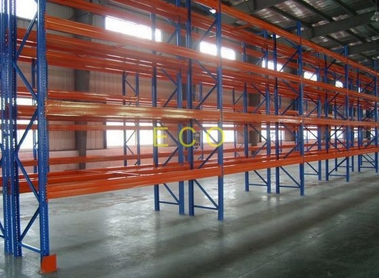 Industrial Heavy Duty Pallet Racking system / Steel Rack For Warehouse SGS ISO