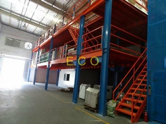 China Mezzanine Floor Warehouse Storage Racks supplier