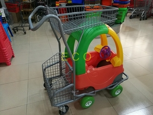 Rust free Children Kids Shopping Trolley / Shopping Cart For Kids
