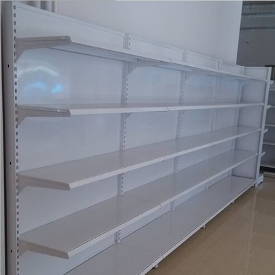 Custom Wall Supermarket Display Shelving Shop Gondola Retail Steel Shelving Rack For Display