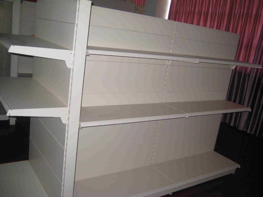 Supermarket Product Display Shelves And Grocery Store Metal Shelving Racks