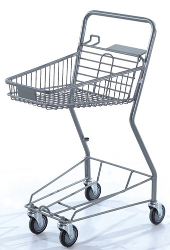Commercial Shopping Carts Grocery Store Baskets Bottom Tray 575×470×955 mm