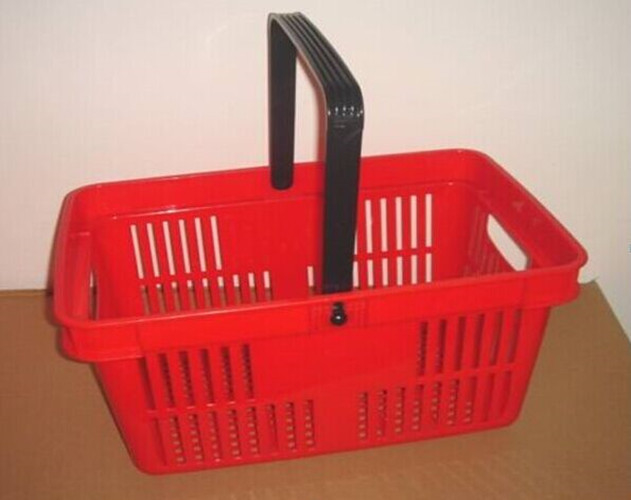 Mutil - funtion Plastic Hand Shopping Basket Supermarket 480×325×250 mm