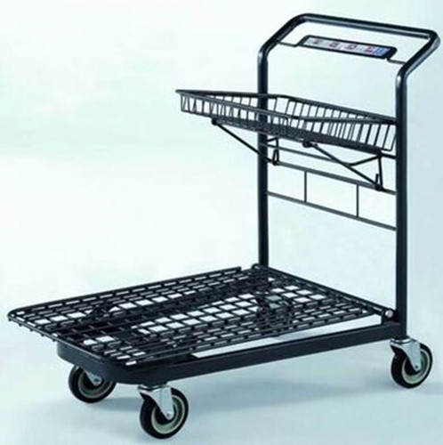 Custom Unfolding Market Portable Shopping Cart  Heavy Duty Mesh Airline
