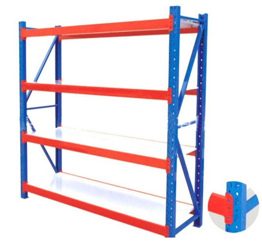 Metal Heavy Duty Warehouse Storage Racks  Adjustable Industrial Steel Shelves  sc 1 st  Supermarket Checkout Counter u0026 Conveyor Belt Checkout Counter & Metal Heavy Duty Warehouse Storage Racks  Adjustable Industrial ...