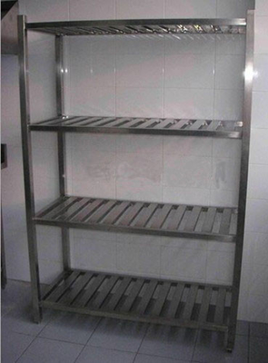 China Durable Stainless Steel Display Racks for Supermarket / store / bakery distributor