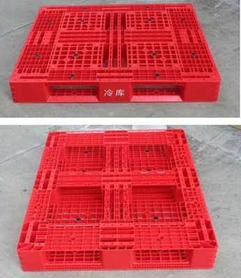 China 1200 X 1000 Stackable Grid Heavy Duty Plastic Pallets , Recycled Plastic Pallets distributor