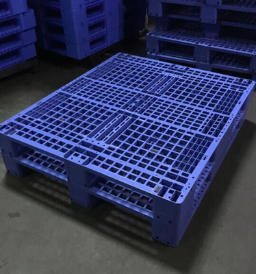 China Single Faced Recycled Storage Heavy Duty Plastic Pallet  For Warehouse distributor