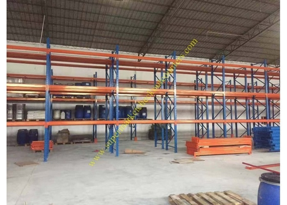 Corrosion protection Warehouse Storage Racks , Commercial Steel Selective Pallet Rack
