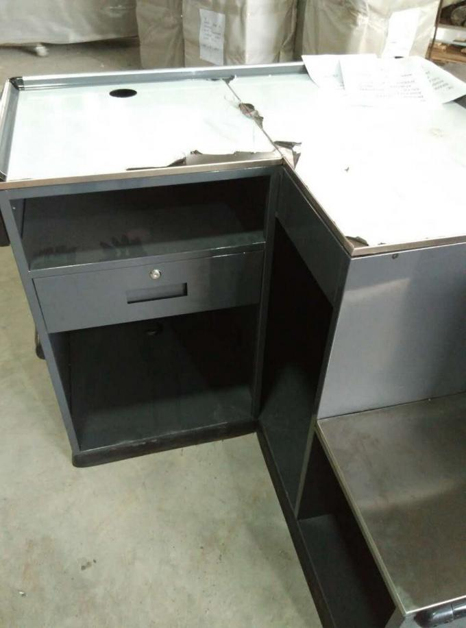 Durable Rust Proof Retail Commercial Stainless Steel Countertops Convenience
