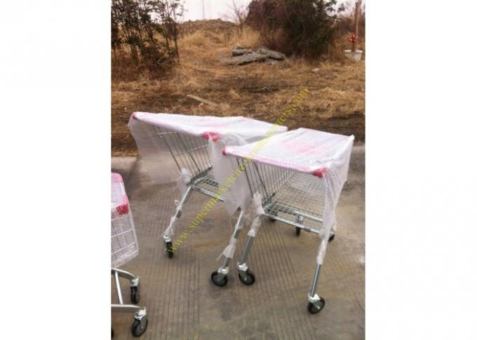 Supermarket Shopping Cart Trolley / Metal Grocery Cart / 150 Litres Hand Trolley