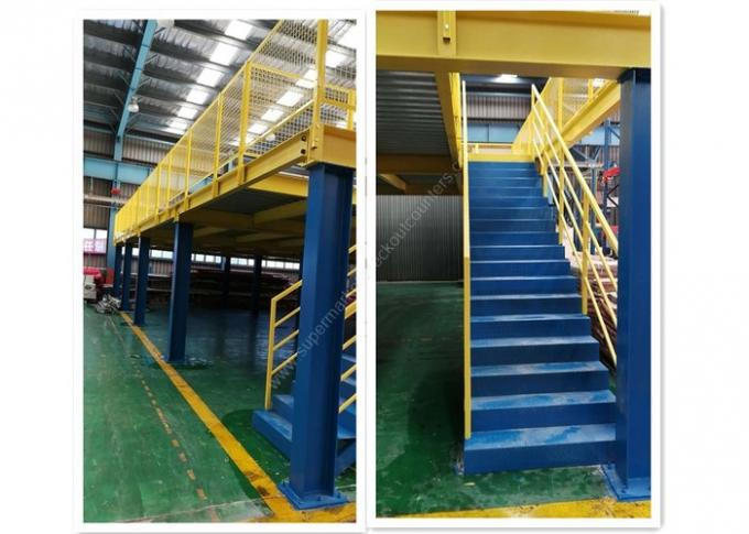 Warehouse Storage Mezzanine Rack  And Platform Anti-rust Steel Shelf